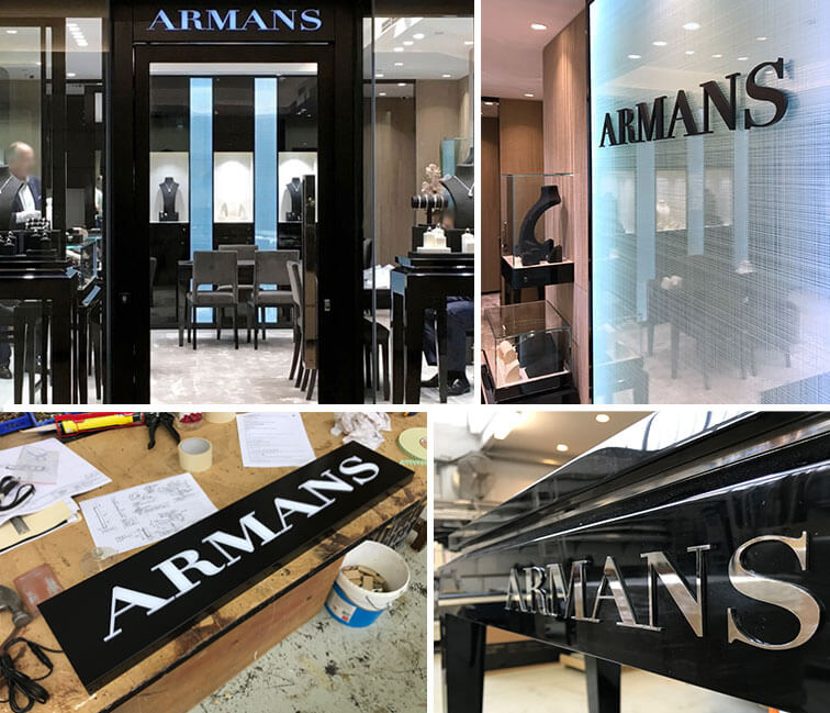 Armans Fine Jewellery - Inset Group